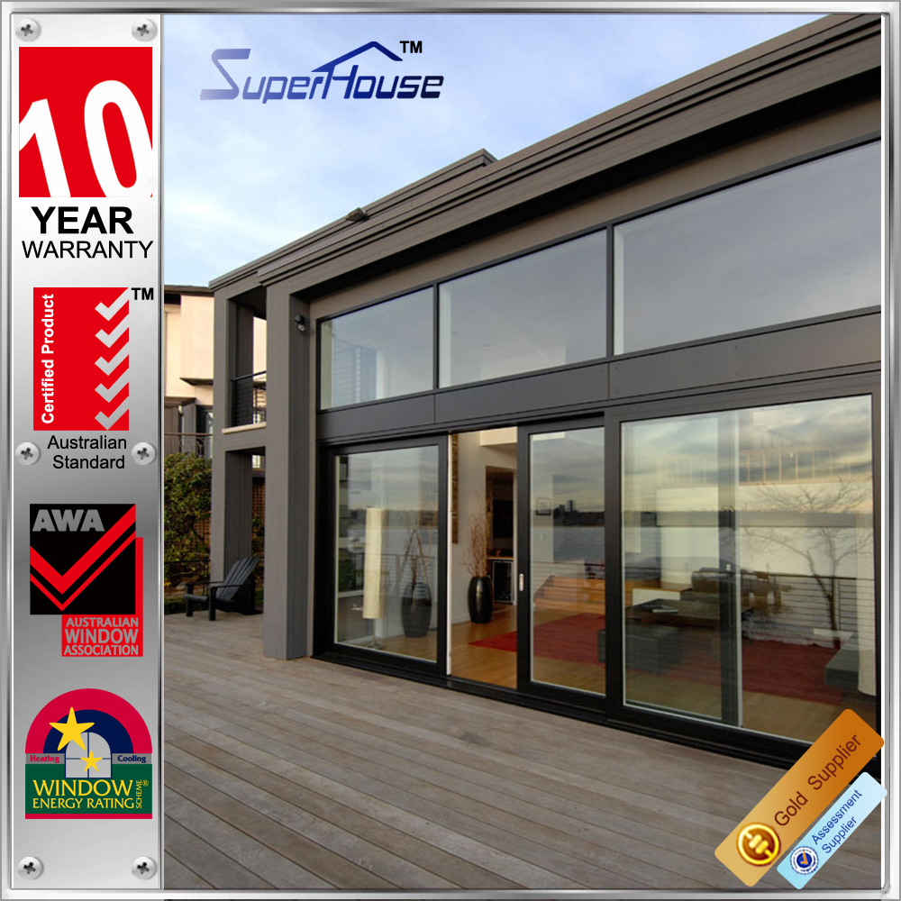 As nz 2208 standard fire rating sliding cheap glass doors for Cheap sliding glass doors
