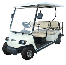 4 Wheels electric car 6 person golf cart