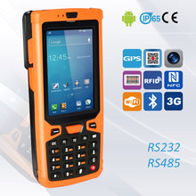 Jepower HT380A Industrial Android PDA with RS232 Port/2D Barcode Scanner/NFC/WiFi/3G/UHF RFID/Bluetooth/Camera