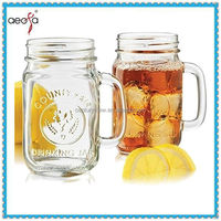 480ml Libbey Country Fair Mason Jar with Handles