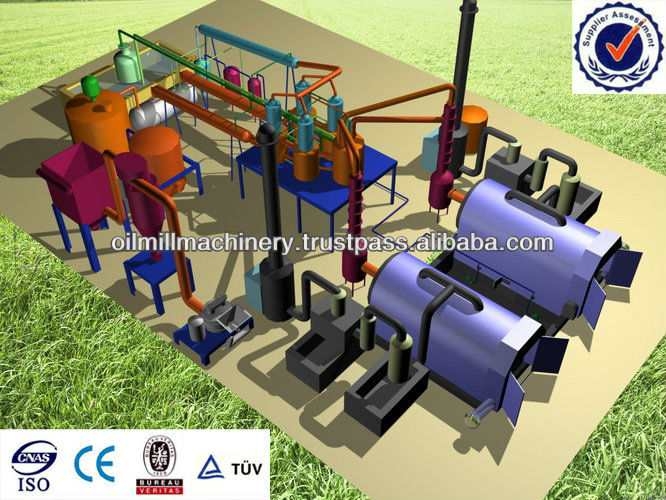 2014 New Generation Oil and carbon black extracting pyrolysis machine from waste tyre