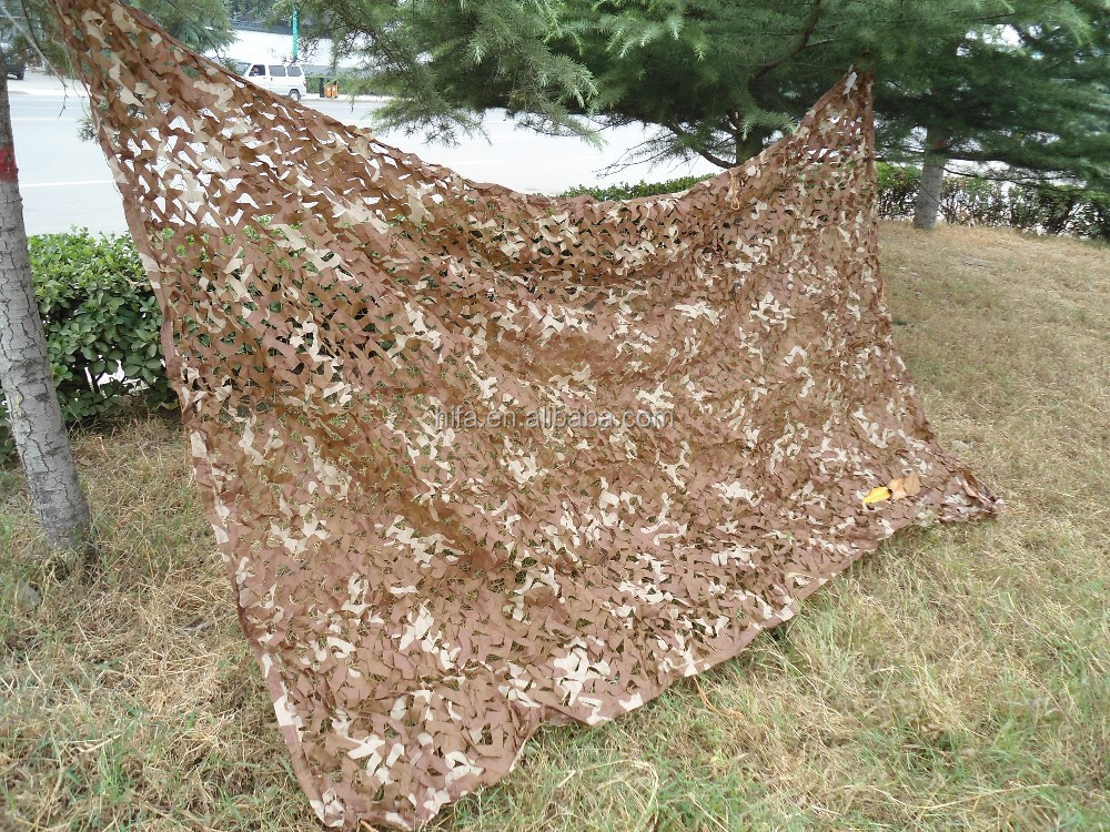Desert camo netting Sand Color Camouflage Net Sunscreen Sunshade net