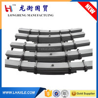 6mm to 56mm trailer leaf spring for 3 axle suspension with low price