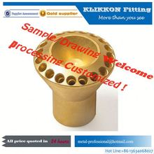 brass cnc cylinder adapter parts
