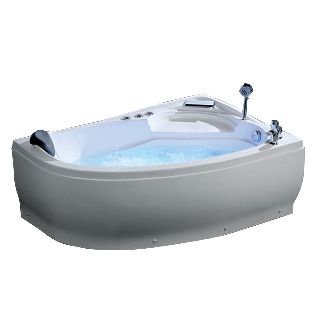 Hs-b201 Ofuro Bath Simple Corner Acrylic Bathtub Soft Tub Whirlpool ...