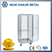 Galvanized Foldable Steel Roll Cage for Logistics