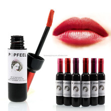 Waterproof Wine Red Shape Lip Tint Baby Pink Lip For Women Batom Makeup Liquid Lipstick Lipgloss <strong>Cosmetic</strong>