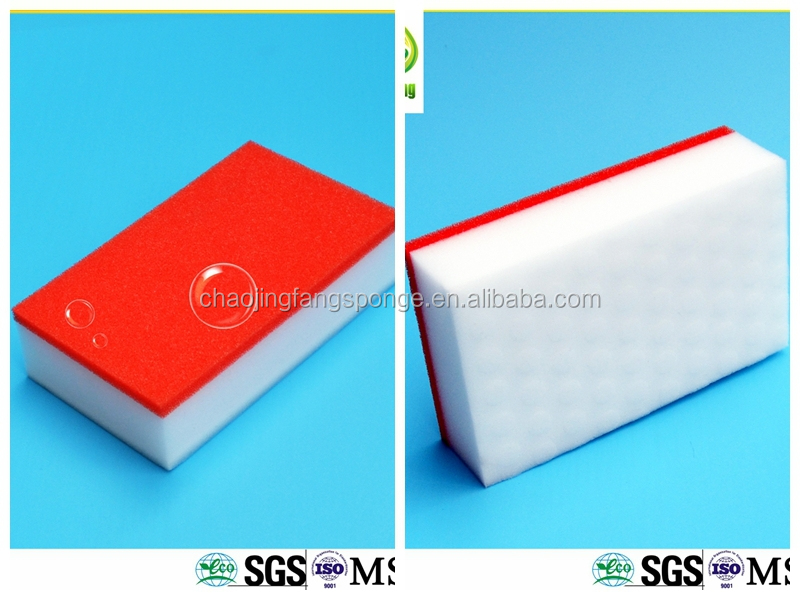 No detergent needed magic nano sponge for houlshold electric equipment cleaning