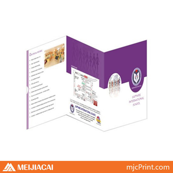 2014 customized print brochure advertising brochures samples