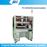 TH-2004AE High quality &precision automatic glue dispenser robot with Car lamp coating machine