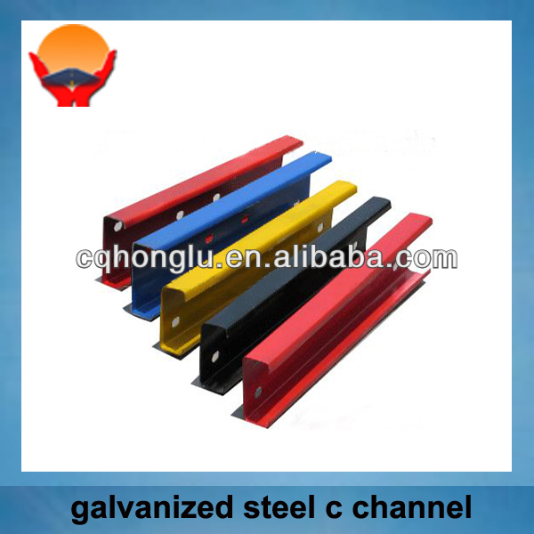 Hot rolled steel galvanized C type channel steel