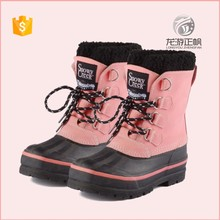 100% Rubber Children Winter Shoe Kids Snow Boots Wholesale