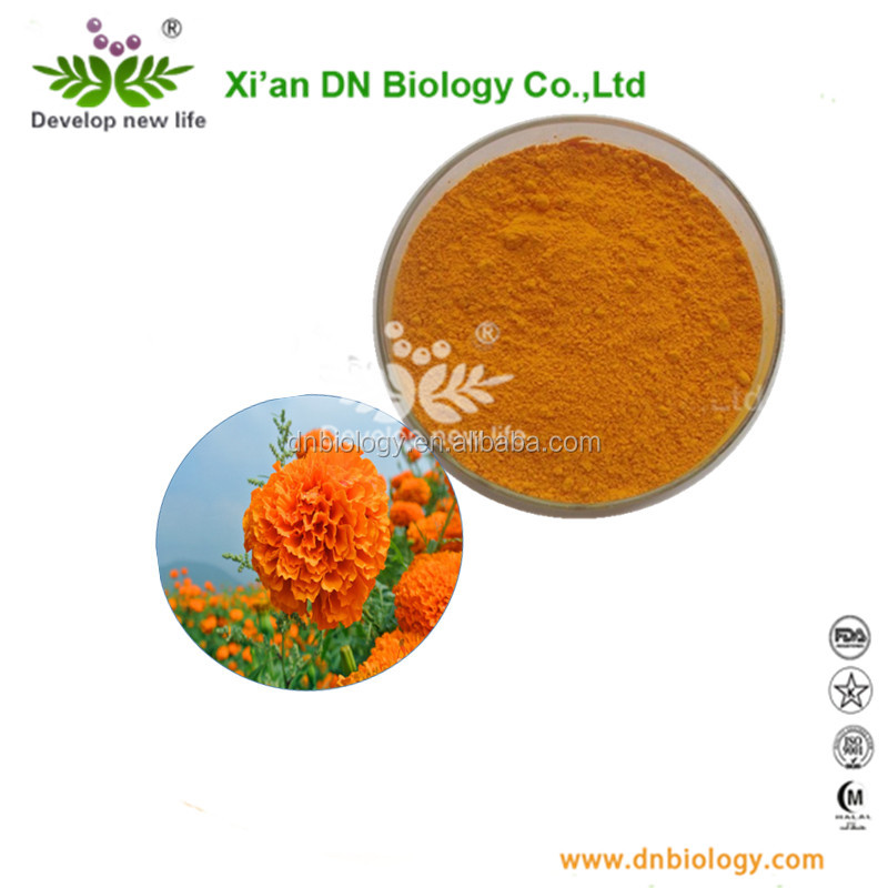 FDA Standard Natural Marigold Extract 5% 20% 40% , Zeaxanthin powder,Lutein Powder