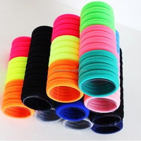 Wholesale Sports Cheap Towel Elastic Hair Bands For Women And Girls