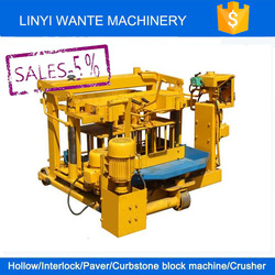 QT40-3 MOBILE cement block making machine cost,cement brick forming machine