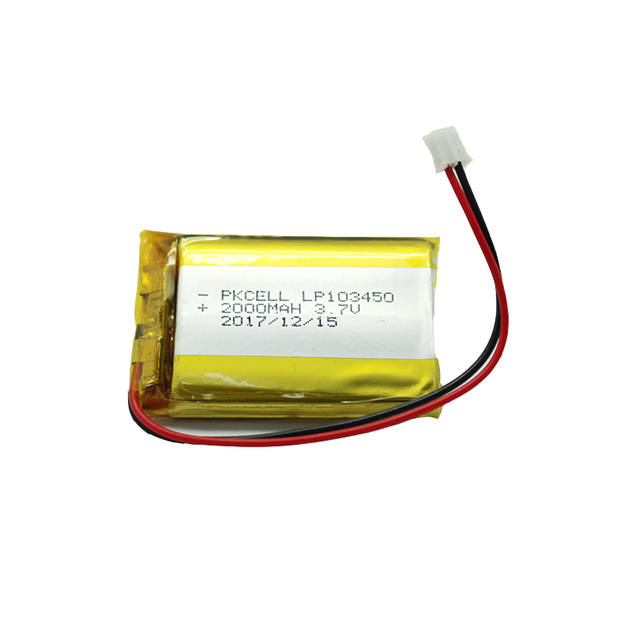 li polymer <strong>battery</strong> 103450 3.7v 2000mah lipo <strong>battery</strong> lp103450 for the digital products