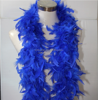 Decorative Turkey Chandelle Feather Boa for garment clothing costumes dresses