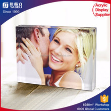 High quality acrylic magnetic photo frame manufacturer