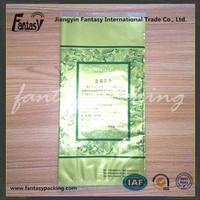 Plastic pouch for Chinese tea packaging