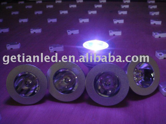 Purple LED Spot Light