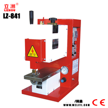 LZ-841 Table Type Hot Melt Coating Machine /Stand Type Hot Cementing Machine With Low Price for shoes