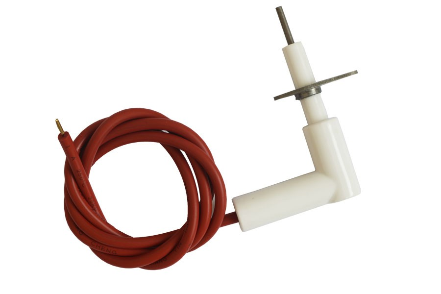 B4408 gas oven ignition electrode with plug