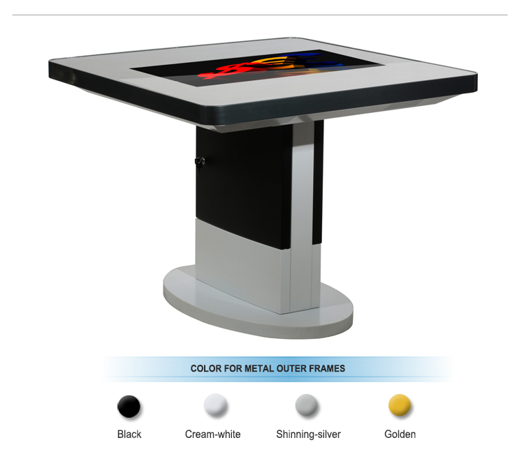 32 Pc Touch Interactive Screen Coffee Table With Tempered Glass Buy Coffee Table Interactive