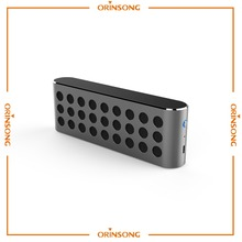 Portable cube shape metal mini wireless bluetooth speaker with bluetooth waterproof