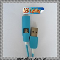 Best Selling Customized Color LED Micro USB Cable,mobile phone accessories