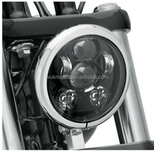 New 5.75 Inch Daymaker Headlights to Fit Many Harley Sportster, Harley Dyna And Harley Softail Motorcycle Models 5 3/4 Inch