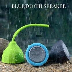 2017 new product AUX audio Portable Mic Water Resistant Bluetooth Speaker