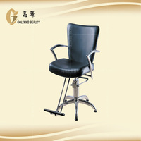 all color portable salon chair headrest with footstep