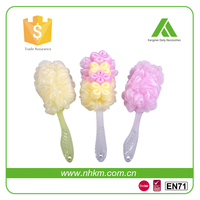 new design eco-friendly LDPE bath back brush