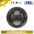 Round led headlight high/low beam for jeep wrangler with driving beam
