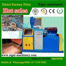 CE Automatic cable copper recycling machine scrap copper wire cable granulator and separator hot selling in EU