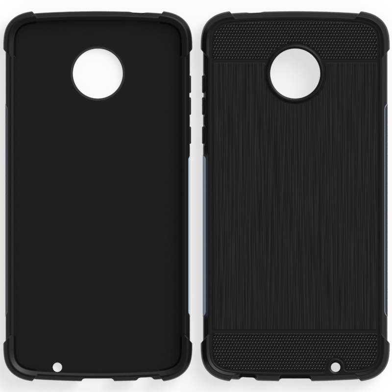 mobile phone <strong>accessories</strong>, cheap silicon case for moto z2 play Brushed tpu case