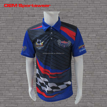 Outdoor pit crew shirts printed motorcycle jerseys