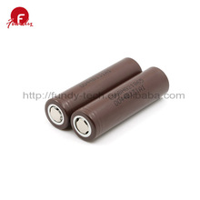 Flat Top LG HG2 3000mAh Lithium 3.7v 18650 Factory Price Li-ion Battery Pack 3.7v