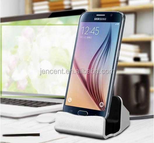 hot sale Universal Phone Stand micro Holder docking station New Charger Sync Docking Station for android phone samsung