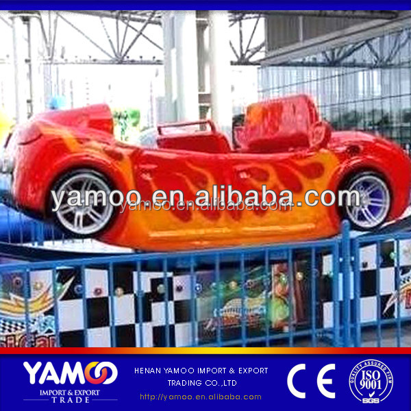 Two Seater Mini Cars! Amusement Track Rides Mini Spin Car / Electric Rally Car for Children!