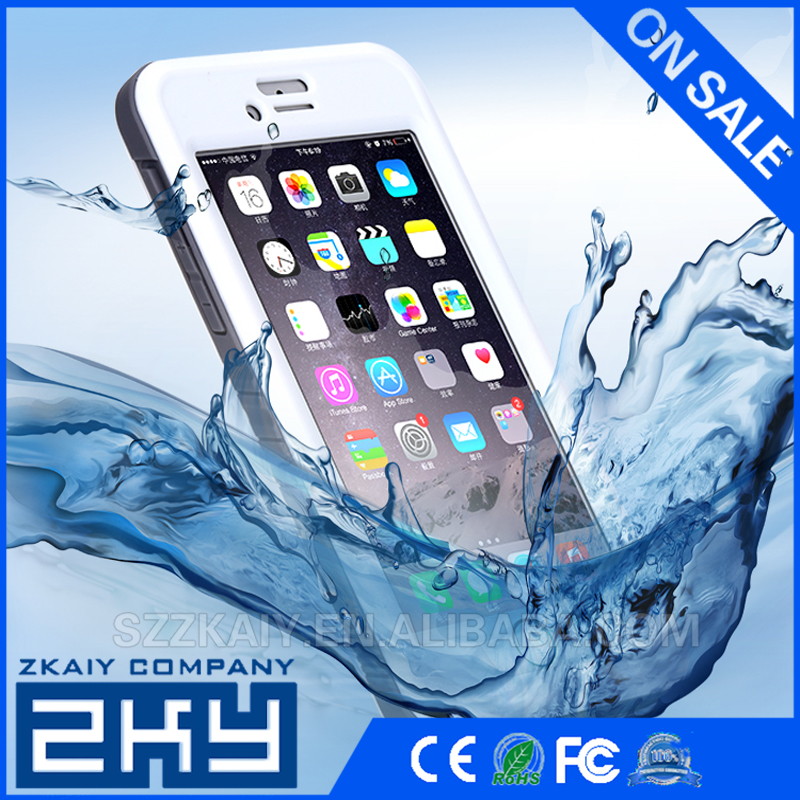 For iPhone 6 Waterproof Case IP68 Certified Waterproof Shock Resistant Protective Case Cover