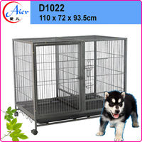 manufactured double dog crate for sale