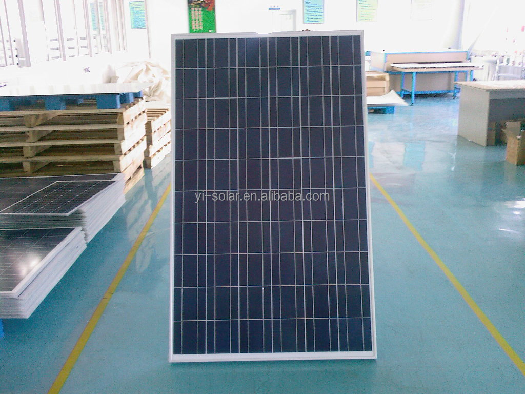 PV module 225W 240W 250W 255W solar panel monocrystalline and poly TUV Solar PV module PV power plants