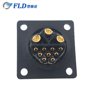 2017new type power connector for sale/ waterproof connector/outdoor connector