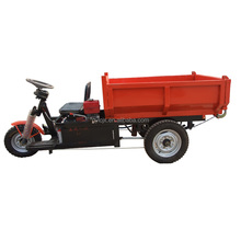 Motor power 1000-2000W electric cargo tricycle small truck dump/low price mini mining dumper