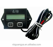 GUANGYA BRAND GY14 Self Powered Engine Digital Auto Motorcycle ATV Tachometer Speedometer Hour Meter