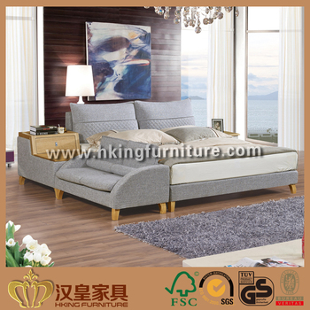 Nordic Style Bedroom Furniture Linen Fabric Bed Of China - Wholesale bedroom furniture suppliers
