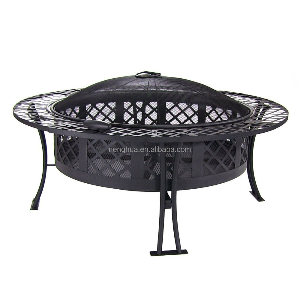 Heavy Duty Firepit : Inches heavy duty extra large fire pit buy