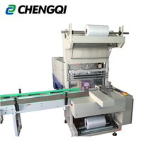 Draught beer bottle automatic sleeve shrink wrap machine