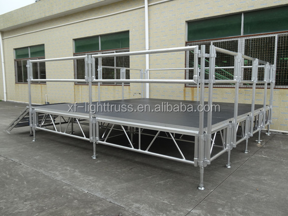 Heavy Loading Weldding Stage, Used Stage Strong Bearing Assemble Mobile Stage for sale